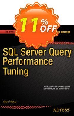 SQL Server Query Performance Tuning - Fritchey  Coupon discount SQL Server Query Performance Tuning (Fritchey) Deal - SQL Server Query Performance Tuning (Fritchey) Exclusive Easter Sale offer for iVoicesoft