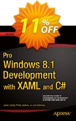 Pro Windows 8.1 Development with XAML and C# - Liberty  Coupon, discount Pro Windows 8.1 Development with XAML and C# (Liberty) Deal. Promotion: Pro Windows 8.1 Development with XAML and C# (Liberty) Exclusive Easter Sale offer for iVoicesoft