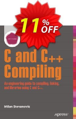 Advanced C and C++ Compiling - Stevanovic  Coupon, discount Advanced C and C++ Compiling (Stevanovic) Deal. Promotion: Advanced C and C++ Compiling (Stevanovic) Exclusive Easter Sale offer for iVoicesoft