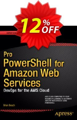 Pro PowerShell for Amazon Web Services - Beach  Coupon, discount Pro PowerShell for Amazon Web Services (Beach) Deal. Promotion: Pro PowerShell for Amazon Web Services (Beach) Exclusive Easter Sale offer for iVoicesoft