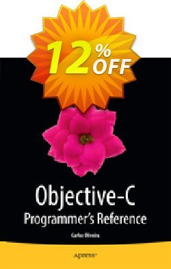 Objective-C Programmer's Reference - Oliveira  Coupon, discount Objective-C Programmer's Reference (Oliveira) Deal. Promotion: Objective-C Programmer's Reference (Oliveira) Exclusive Easter Sale offer for iVoicesoft