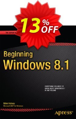 Beginning Windows 8.1 - Halsey  Coupon, discount Beginning Windows 8.1 (Halsey) Deal. Promotion: Beginning Windows 8.1 (Halsey) Exclusive Easter Sale offer for iVoicesoft