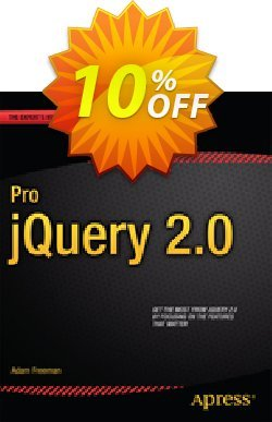 Pro jQuery 2.0 - Freeman  Coupon, discount Pro jQuery 2.0 (Freeman) Deal. Promotion: Pro jQuery 2.0 (Freeman) Exclusive Easter Sale offer for iVoicesoft