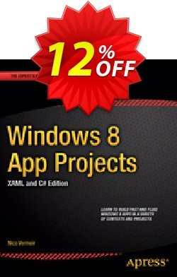 Windows 8 App Projects - XAML and C# Edition - Vermeir  Coupon, discount Windows 8 App Projects - XAML and C# Edition (Vermeir) Deal. Promotion: Windows 8 App Projects - XAML and C# Edition (Vermeir) Exclusive Easter Sale offer for iVoicesoft