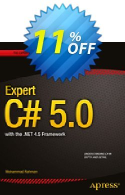 Expert C# 5.0 - Rahman  Coupon discount Expert C# 5.0 (Rahman) Deal - Expert C# 5.0 (Rahman) Exclusive Easter Sale offer for iVoicesoft
