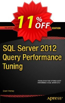 SQL Server 2012 Query Performance Tuning - Fritchey  Coupon discount SQL Server 2012 Query Performance Tuning (Fritchey) Deal. Promotion: SQL Server 2012 Query Performance Tuning (Fritchey) Exclusive Easter Sale offer for iVoicesoft