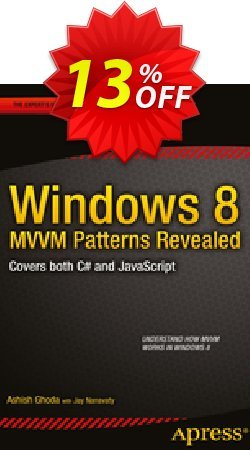 Windows 8 MVVM Patterns Revealed - Ghoda  Coupon, discount Windows 8 MVVM Patterns Revealed (Ghoda) Deal. Promotion: Windows 8 MVVM Patterns Revealed (Ghoda) Exclusive Easter Sale offer for iVoicesoft