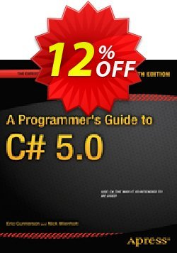 A Programmer's Guide to C# 5.0 - Gunnerson  Coupon, discount A Programmer's Guide to C# 5.0 (Gunnerson) Deal. Promotion: A Programmer's Guide to C# 5.0 (Gunnerson) Exclusive Easter Sale offer for iVoicesoft