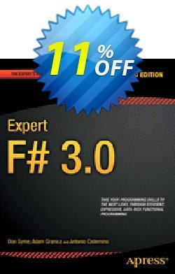 Expert F# 3.0 - Syme  Coupon discount Expert F# 3.0 (Syme) Deal - Expert F# 3.0 (Syme) Exclusive Easter Sale offer for iVoicesoft