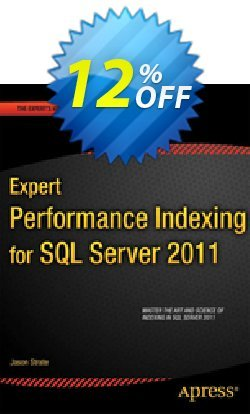 Expert Performance Indexing for SQL Server 2012 - Strate  Coupon discount Expert Performance Indexing for SQL Server 2012 (Strate) Deal - Expert Performance Indexing for SQL Server 2012 (Strate) Exclusive Easter Sale offer for iVoicesoft
