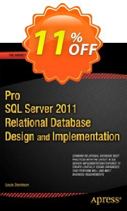 Pro SQL Server 2012 Relational Database Design and Implementation - Davidson  Coupon discount Pro SQL Server 2012 Relational Database Design and Implementation (Davidson) Deal - Pro SQL Server 2012 Relational Database Design and Implementation (Davidson) Exclusive Easter Sale offer for iVoicesoft