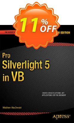 Pro Silverlight 5 in VB - MacDonald  Coupon discount Pro Silverlight 5 in VB (MacDonald) Deal - Pro Silverlight 5 in VB (MacDonald) Exclusive Easter Sale offer for iVoicesoft