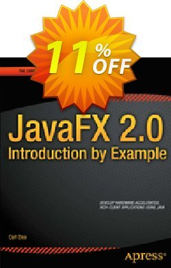 JavaFX 2.0: Introduction by Example - Dea  Coupon, discount JavaFX 2.0: Introduction by Example (Dea) Deal. Promotion: JavaFX 2.0: Introduction by Example (Dea) Exclusive Easter Sale offer for iVoicesoft