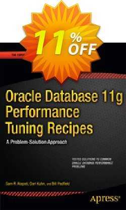 Oracle Database 11g Performance Tuning Recipes - Alapati  Coupon discount Oracle Database 11g Performance Tuning Recipes (Alapati) Deal - Oracle Database 11g Performance Tuning Recipes (Alapati) Exclusive Easter Sale offer for iVoicesoft