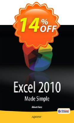 Excel 2010 Made Simple - Katz  Coupon discount Excel 2010 Made Simple (Katz) Deal - Excel 2010 Made Simple (Katz) Exclusive Easter Sale offer for iVoicesoft