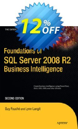 Foundations of SQL Server 2008 R2 Business Intelligence - Fouche  Coupon discount Foundations of SQL Server 2008 R2 Business Intelligence (Fouche) Deal - Foundations of SQL Server 2008 R2 Business Intelligence (Fouche) Exclusive Easter Sale offer for iVoicesoft
