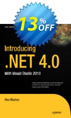 Introducing .NET 4.0 - Mackey  Coupon, discount Introducing .NET 4.0 (Mackey) Deal. Promotion: Introducing .NET 4.0 (Mackey) Exclusive Easter Sale offer for iVoicesoft