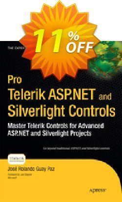 Pro Telerik ASP.NET and Silverlight Controls - Guay Paz  Coupon discount Pro Telerik ASP.NET and Silverlight Controls (Guay Paz) Deal - Pro Telerik ASP.NET and Silverlight Controls (Guay Paz) Exclusive Easter Sale offer for iVoicesoft