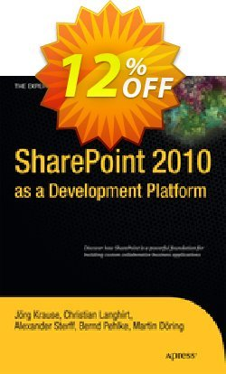 SharePoint 2010 as a Development Platform - Krause  Coupon discount SharePoint 2010 as a Development Platform (Krause) Deal - SharePoint 2010 as a Development Platform (Krause) Exclusive Easter Sale offer for iVoicesoft