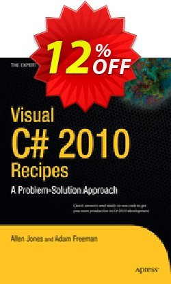 Visual C# 2010 Recipes - Jones  Coupon discount Visual C# 2010 Recipes (Jones) Deal - Visual C# 2010 Recipes (Jones) Exclusive Easter Sale offer for iVoicesoft