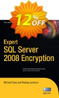 Expert SQL Server 2008 Encryption - Coles  Coupon discount Expert SQL Server 2008 Encryption (Coles) Deal - Expert SQL Server 2008 Encryption (Coles) Exclusive Easter Sale offer for iVoicesoft