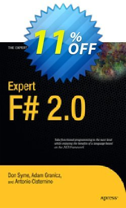 Expert F# 2.0 - Syme  Coupon, discount Expert F# 2.0 (Syme) Deal. Promotion: Expert F# 2.0 (Syme) Exclusive Easter Sale offer for iVoicesoft