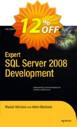 Expert SQL Server 2008 Development - Aitchison  Coupon discount Expert SQL Server 2008 Development (Aitchison) Deal - Expert SQL Server 2008 Development (Aitchison) Exclusive Easter Sale offer for iVoicesoft