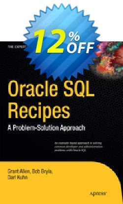 Oracle SQL Recipes - Allen  Coupon discount Oracle SQL Recipes (Allen) Deal - Oracle SQL Recipes (Allen) Exclusive Easter Sale offer for iVoicesoft