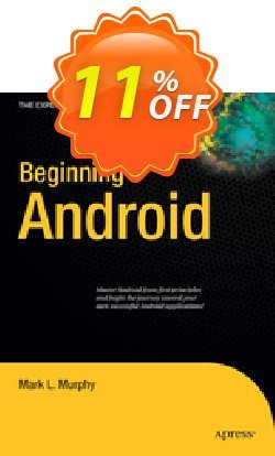 Beginning Android - Murphy  Coupon discount Beginning Android (Murphy) Deal. Promotion: Beginning Android (Murphy) Exclusive Easter Sale offer for iVoicesoft