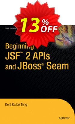 Beginning JSF™ 2 APIs and JBoss® Seam - Tong  Coupon, discount Beginning JSF™ 2 APIs and JBoss® Seam (Tong) Deal. Promotion: Beginning JSF™ 2 APIs and JBoss® Seam (Tong) Exclusive Easter Sale offer for iVoicesoft