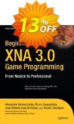 Beginning XNA 3.0 Game Programming - Evangelista  Coupon discount Beginning XNA 3.0 Game Programming (Evangelista) Deal - Beginning XNA 3.0 Game Programming (Evangelista) Exclusive Easter Sale offer for iVoicesoft