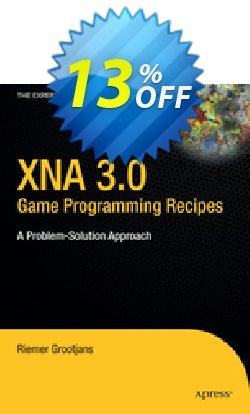 XNA 3.0 Game Programming Recipes - Grootjans  Coupon, discount XNA 3.0 Game Programming Recipes (Grootjans) Deal. Promotion: XNA 3.0 Game Programming Recipes (Grootjans) Exclusive Easter Sale offer for iVoicesoft