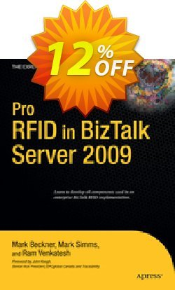 Pro RFID in BizTalk Server 2009 - Simms  Coupon discount Pro RFID in BizTalk Server 2009 (Simms) Deal - Pro RFID in BizTalk Server 2009 (Simms) Exclusive Easter Sale offer for iVoicesoft