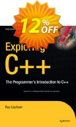 Exploring C++ - Lischner  Coupon, discount Exploring C++ (Lischner) Deal. Promotion: Exploring C++ (Lischner) Exclusive Easter Sale offer for iVoicesoft