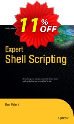 Expert Shell Scripting - Peters  Coupon discount Expert Shell Scripting (Peters) Deal - Expert Shell Scripting (Peters) Exclusive Easter Sale offer for iVoicesoft
