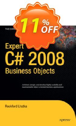 Expert C# 2008 Business Objects - Lhotka  Coupon discount Expert C# 2008 Business Objects (Lhotka) Deal - Expert C# 2008 Business Objects (Lhotka) Exclusive Easter Sale offer for iVoicesoft