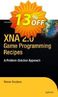 XNA 2.0 Game Programming Recipes - Grootjans  Coupon, discount XNA 2.0 Game Programming Recipes (Grootjans) Deal. Promotion: XNA 2.0 Game Programming Recipes (Grootjans) Exclusive Easter Sale offer for iVoicesoft