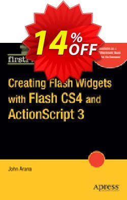 Creating Flash Widgets with Flash CS4 and ActionScript 3.0 - Arana  Coupon, discount Creating Flash Widgets with Flash CS4 and ActionScript 3.0 (Arana) Deal. Promotion: Creating Flash Widgets with Flash CS4 and ActionScript 3.0 (Arana) Exclusive Easter Sale offer for iVoicesoft