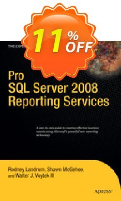 Pro SQL Server 2008 Reporting Services - Landrum  Coupon discount Pro SQL Server 2008 Reporting Services (Landrum) Deal - Pro SQL Server 2008 Reporting Services (Landrum) Exclusive Easter Sale offer for iVoicesoft