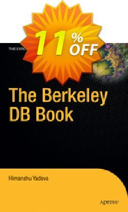 The Berkeley DB Book - Yadava  Coupon discount The Berkeley DB Book (Yadava) Deal - The Berkeley DB Book (Yadava) Exclusive Easter Sale offer for iVoicesoft