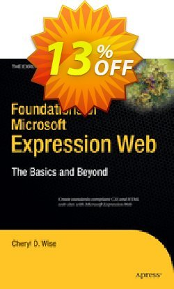 Foundations of Microsoft Expression Web - Wise  Coupon, discount Foundations of Microsoft Expression Web (Wise) Deal. Promotion: Foundations of Microsoft Expression Web (Wise) Exclusive Easter Sale offer for iVoicesoft