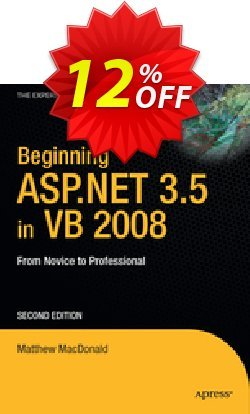 Beginning ASP.NET 3.5 in VB 2008 - MacDonald  Coupon discount Beginning ASP.NET 3.5 in VB 2008 (MacDonald) Deal - Beginning ASP.NET 3.5 in VB 2008 (MacDonald) Exclusive Easter Sale offer for iVoicesoft