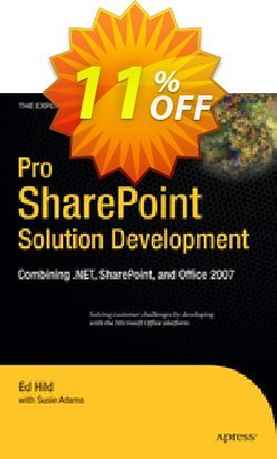 Pro SharePoint Solution Development - Hild  Coupon discount Pro SharePoint Solution Development (Hild) Deal - Pro SharePoint Solution Development (Hild) Exclusive Easter Sale offer for iVoicesoft