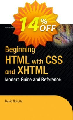 Beginning HTML with CSS and XHTML - Cook  Coupon, discount Beginning HTML with CSS and XHTML (Cook) Deal. Promotion: Beginning HTML with CSS and XHTML (Cook) Exclusive Easter Sale offer for iVoicesoft