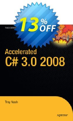 Accelerated C# 2008 - Nash  Coupon discount Accelerated C# 2008 (Nash) Deal - Accelerated C# 2008 (Nash) Exclusive Easter Sale offer for iVoicesoft