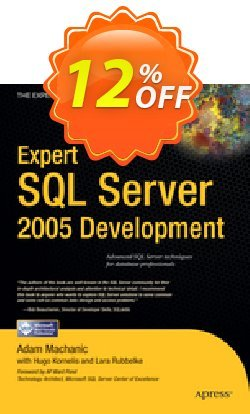 Expert SQL Server 2005 Development - Machanic  Coupon discount Expert SQL Server 2005 Development (Machanic) Deal - Expert SQL Server 2005 Development (Machanic) Exclusive Easter Sale offer for iVoicesoft