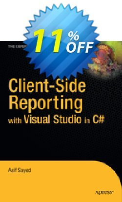 Client-Side Reporting with Visual Studio in C# - Sayed  Coupon discount Client-Side Reporting with Visual Studio in C# (Sayed) Deal - Client-Side Reporting with Visual Studio in C# (Sayed) Exclusive Easter Sale offer for iVoicesoft
