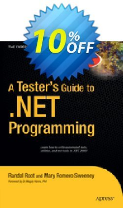 A Tester's Guide to .NET Programming - Sweeney  Coupon discount A Tester's Guide to .NET Programming (Sweeney) Deal - A Tester's Guide to .NET Programming (Sweeney) Exclusive Easter Sale offer for iVoicesoft