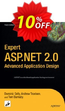 Expert ASP.NET 2.0 Advanced Application Design - Barnaby  Coupon discount Expert ASP.NET 2.0 Advanced Application Design (Barnaby) Deal - Expert ASP.NET 2.0 Advanced Application Design (Barnaby) Exclusive Easter Sale offer for iVoicesoft