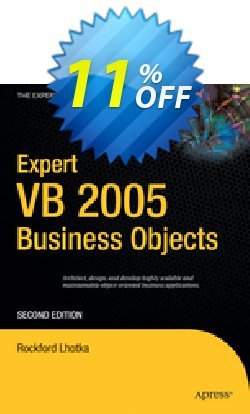 Expert VB 2005 Business Objects - Lhotka  Coupon discount Expert VB 2005 Business Objects (Lhotka) Deal - Expert VB 2005 Business Objects (Lhotka) Exclusive Easter Sale offer for iVoicesoft
